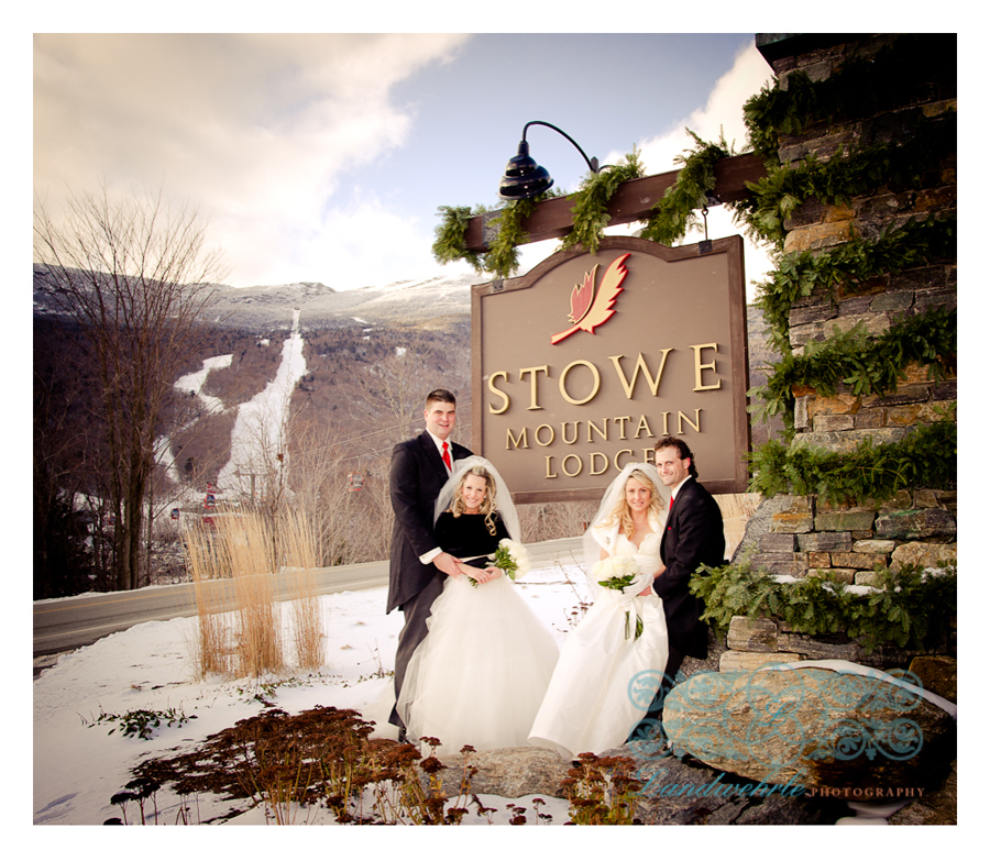Kathleen Landwehrle Photography Presents Katie Robert And Bethany Jameson S Weddings At Stowe Mountain Lodge